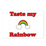 Taste My Rainbow Postcards (Package of 8)