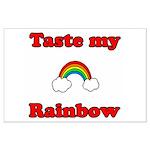 Taste My Rainbow Large Poster