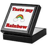 Taste My Rainbow Keepsake Box