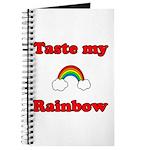 Taste My Rainbow Journal