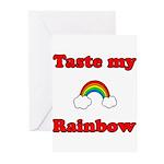 Taste My Rainbow Greeting Cards (Pk of 20)