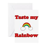 Taste My Rainbow Greeting Cards (Pk of 10)