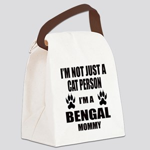 I'm a Bengal Mommy Canvas Lunch Bag