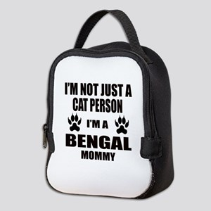 I'm a Bengal Mommy Neoprene Lunch Bag