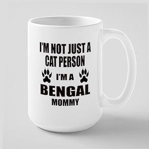 I'm a Bengal Mommy Large Mug