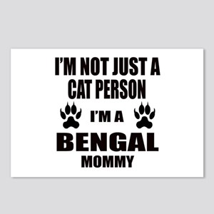 I'm a Bengal Mommy Postcards (Package of 8)
