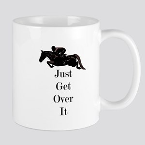 Just Get Over It Horse Jumper Mugs