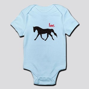 Horse with Hearts Body Suit