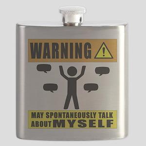 Warning May Spontaneously Talk About Myself Flask