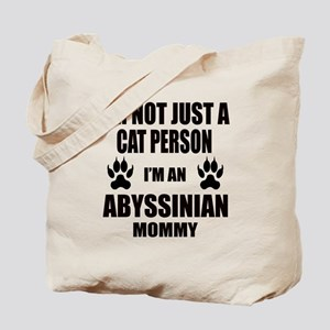 I'm an Abyssinian Mommy Tote Bag