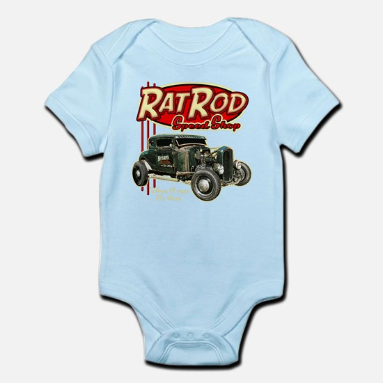 RatRod-tee BLK3 Body Suit