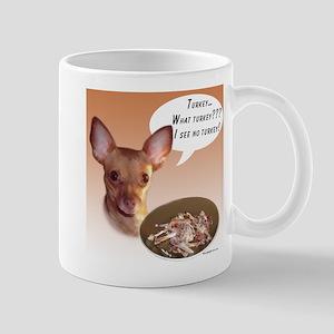 Chihuahua Turkey Mug