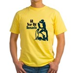 60 Year Old Romantic Yellow T-Shirt