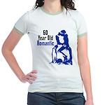 60 Year Old Romantic Jr. Ringer T-Shirt