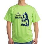 60 Year Old Romantic Green T-Shirt