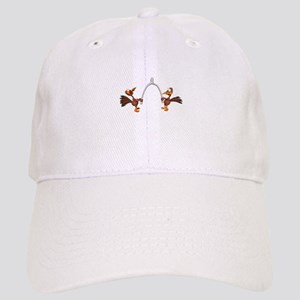 Turkeys Making Wish (Wishbone) Cap