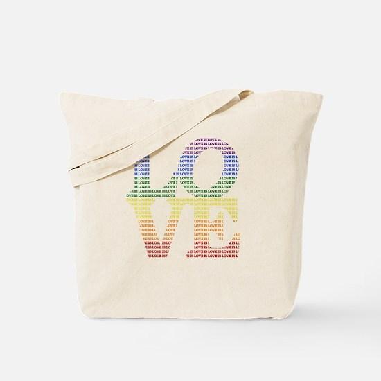 Love is Love LGBT Tote Bag