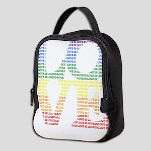 Love is Love LGBT Neoprene Lunch Bag
