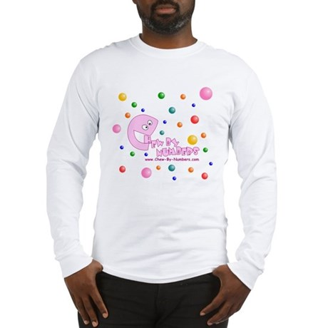 Chew-By-Numbers Long Sleeve T-Shirt