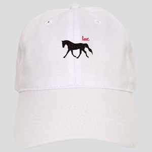 Horse with Hearts Cap