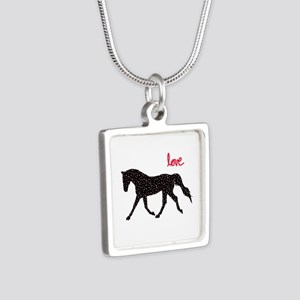Horse with Hearts Necklaces