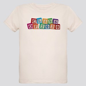 Class of 2030 Blocks Organic Kids T-Shirt