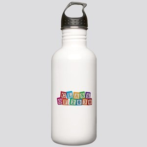 Class of 2030 Blocks Stainless Water Bottle 1.0L