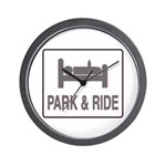 Park and Ride Wall Clock