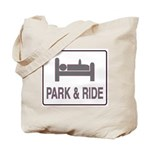 Park and Ride Tote Bag