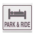 Park and Ride Tile Coaster