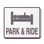 Park and Ride Mousepad