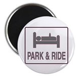 Park and Ride Magnet