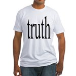 114b. truth Fitted T-Shirt