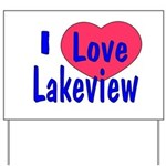 Rebuild Lakeview Yard Sign