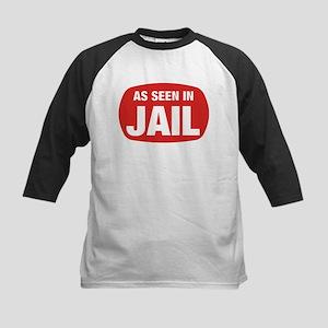 As Seen In Jail Kids Baseball Jersey
