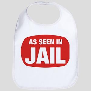 As Seen In Jail Bib