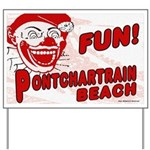 Pontchartrain Beach Yard Sign