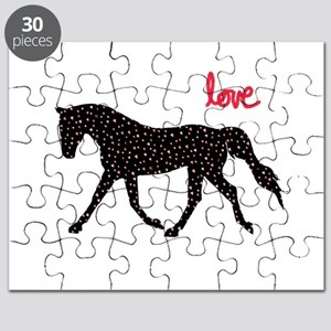 Horse with Hearts Puzzle