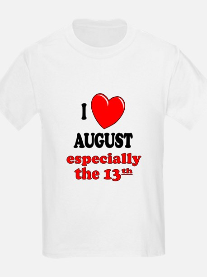 August 13th T-Shirt