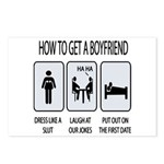 How To Get A Boyfriend Postcards (Package of 8)
