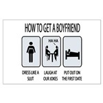 How To Get A Boyfriend Large Poster
