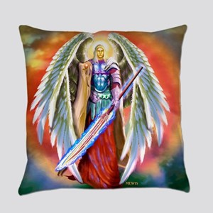Angel Michael Everyday Pillow