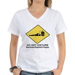 Blood Alcohol Experiment In P Women's V-Neck T-Shi