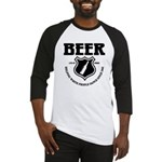 Beer - Helping White People D Baseball Jersey