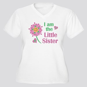 I am the Little Sister Plus Size T-Shirt