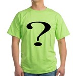 100. ? Green T-Shirt