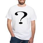 100. ? White T-Shirt