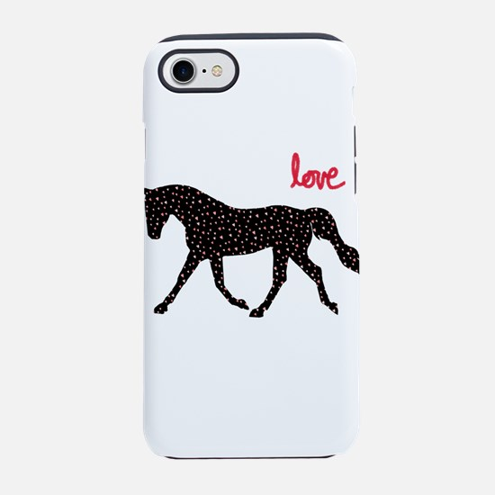Horse with Hearts iPhone 8/7 Tough Case