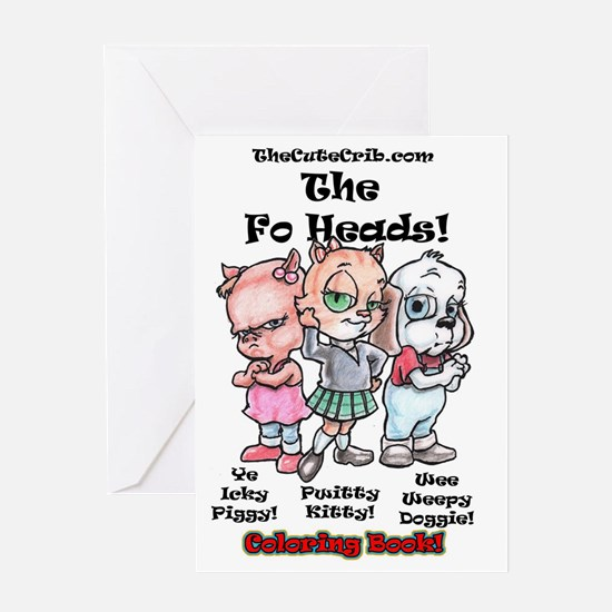 Funny Coloring books Greeting Card