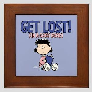 Lucy-Get Lost Framed Tile